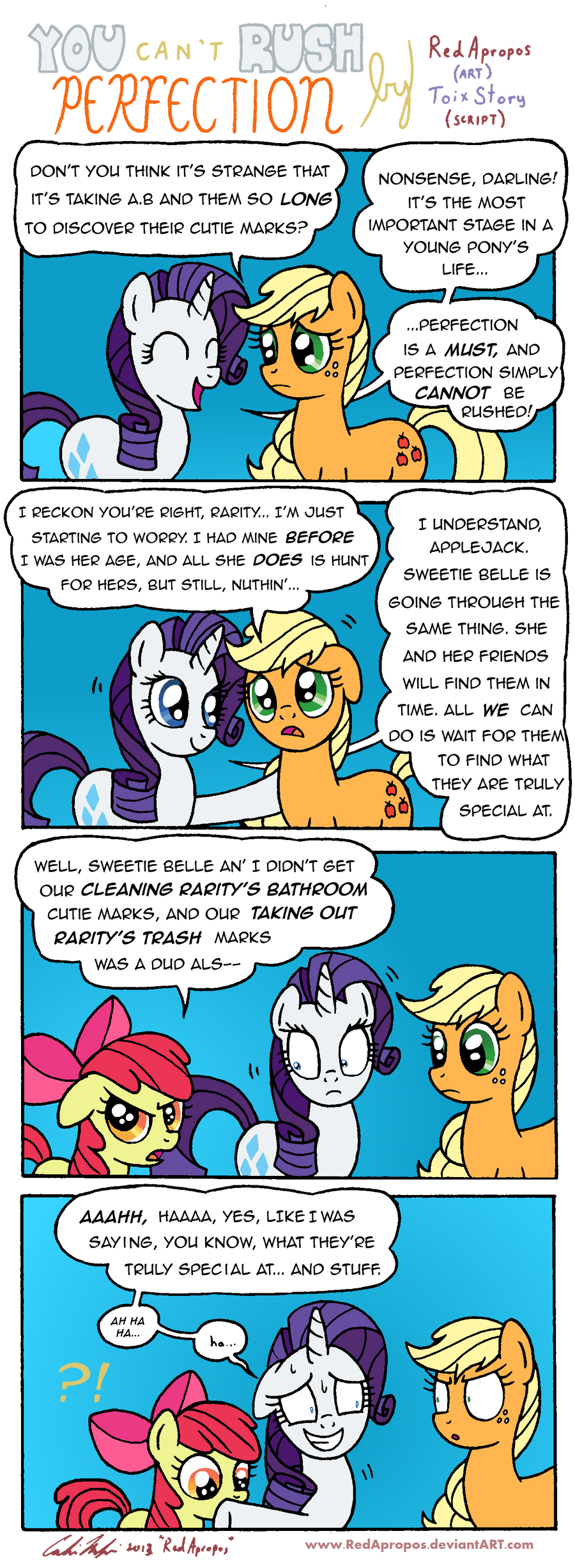 You Can't Rush Perfection by RedApropos