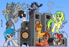 My Favourite Bronies -MUSIC- by RedApropos