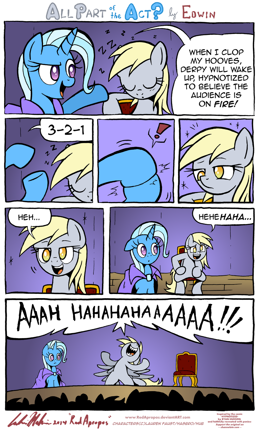 All Part of the Act? by RedApropos
