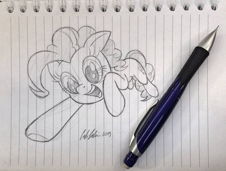 Pinkie Pounce (sketch)