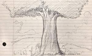 I drew another freakin tree