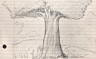 I drew another freakin tree