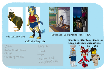 Commission prices [UPDATED] by Coconut-Jaguar