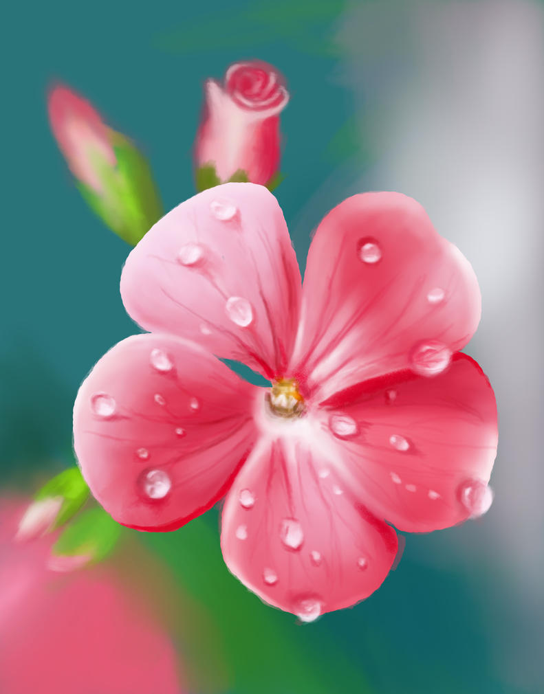 flower digital art - photo #6