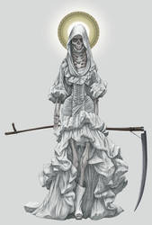 La Santa Muerte by angelero