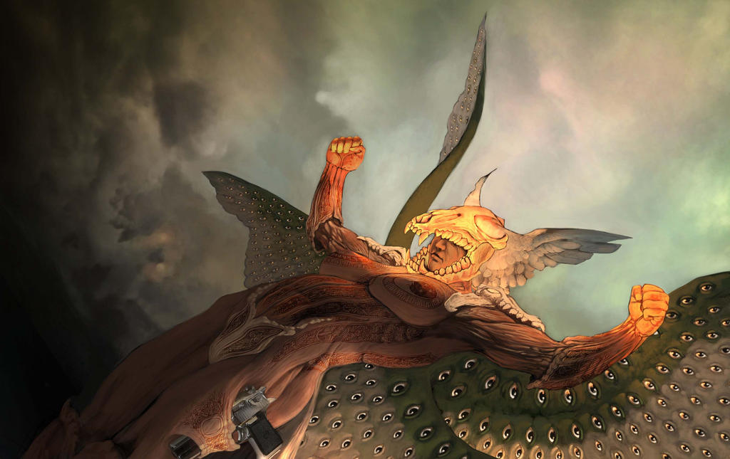 Miguel Arcangel by angelero