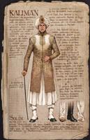 Kaliman baja by angelero