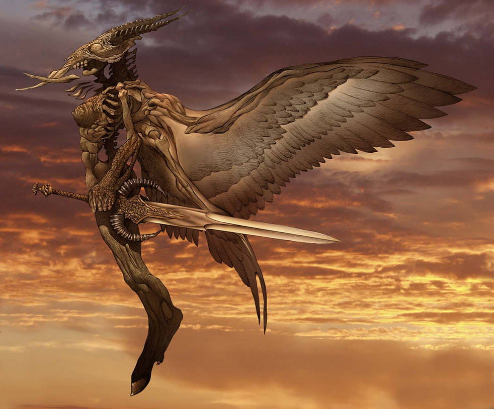 Arcangel Uriel by angelero