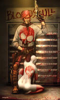 Anjin Anhut's Bloodskull by angelero