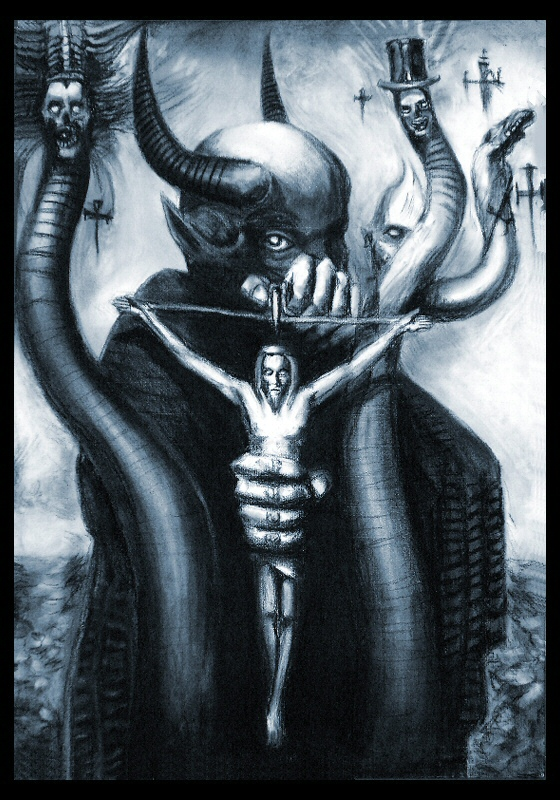 Giger's Satan - repro by mooninthescorpio