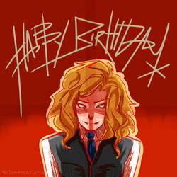 Happy birthday Freiska by MidLangley