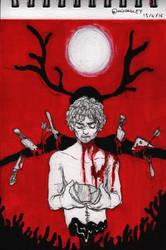 Broken Teacup by MidLangley