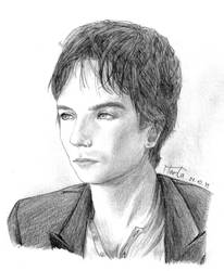 Damon Salvatore - portrait by Kira6311