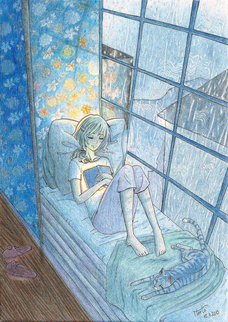 A Good Book by Kira6311