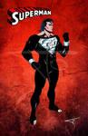 208 Superman (Black Costume)