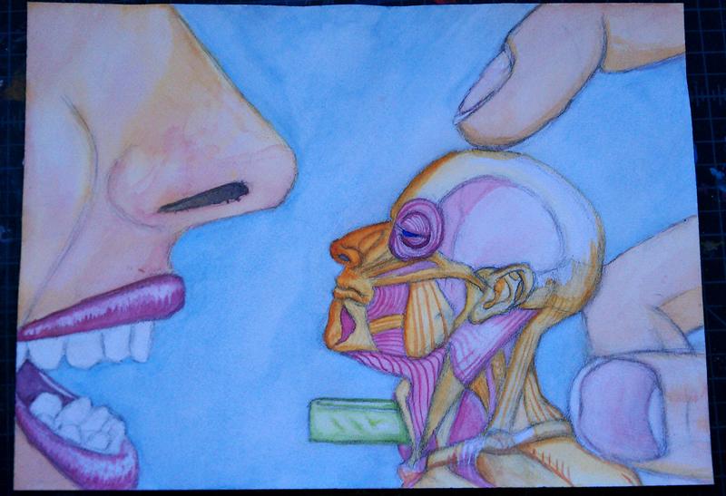 PEZ Head by Sageous