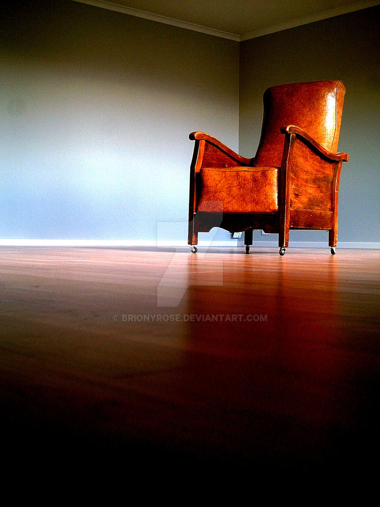Chair In An Empty Room By BrionyROSE