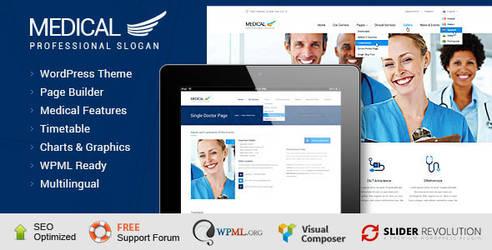 Themeforest Best Medical WordPress by coralixthemes