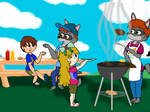 A Summer Barbecue by WonderWill7134