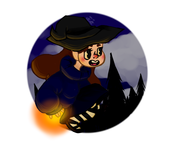 Witchy Mabel by PunkCutie