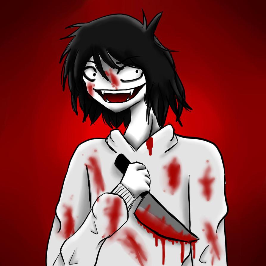 Jeff the Killer!!!! by Lunastar121