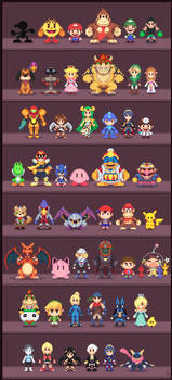 Super Low-res Brothers