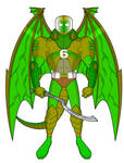 Hypothetical MMPR Remake-Warrior of the Green