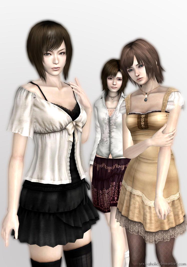 Fatal Frame 4 Heroines by you-aholic on DeviantArt