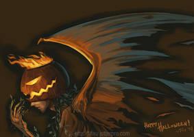 Obsessed--Jack O Lantern by fegan