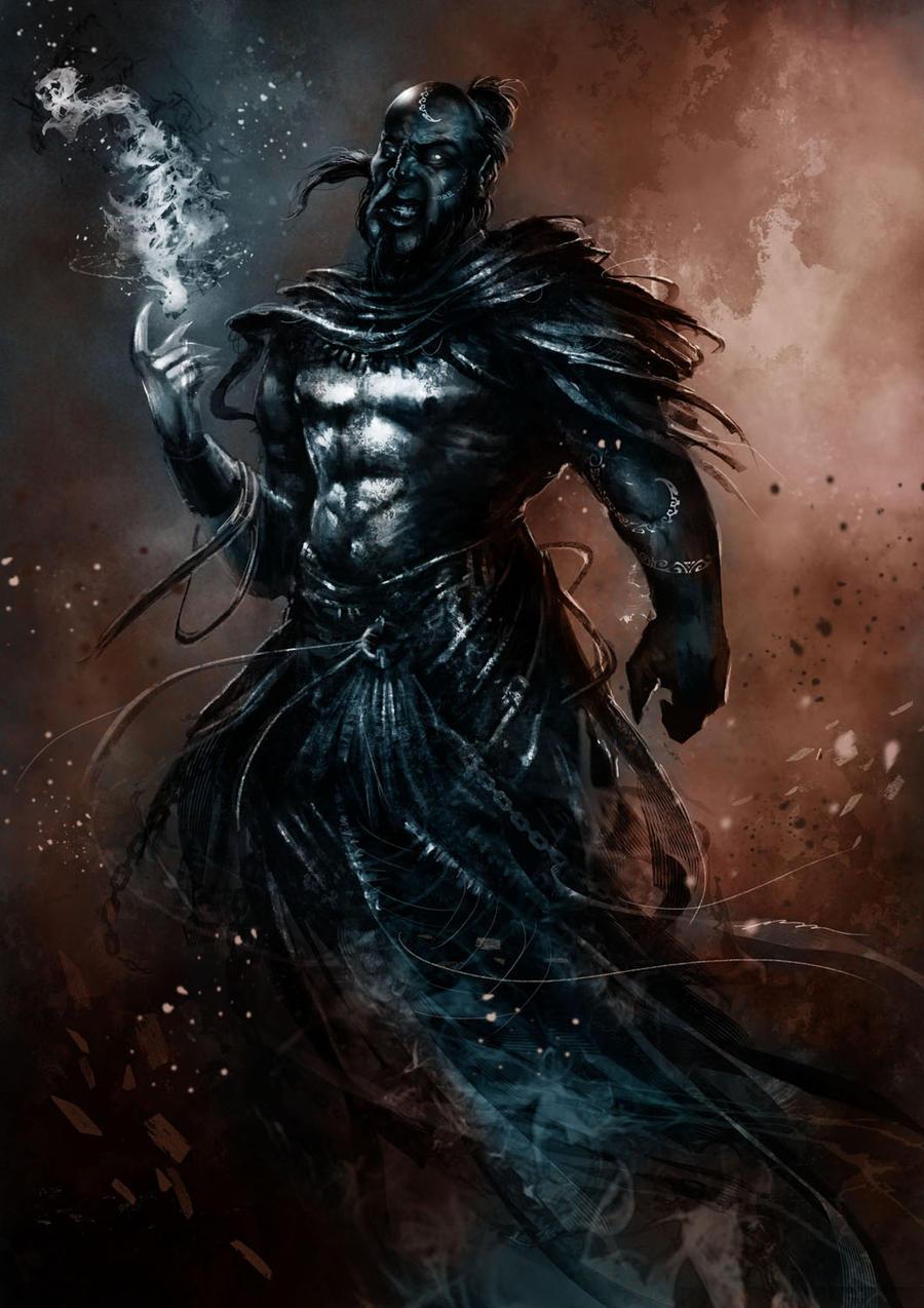 Exar-Kun Qel-Droma Ragnos, Broken lord of the ancient roots Genie____by_trishkell-d3cyrpu
