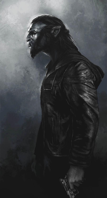 Werewolf... by Trishkell