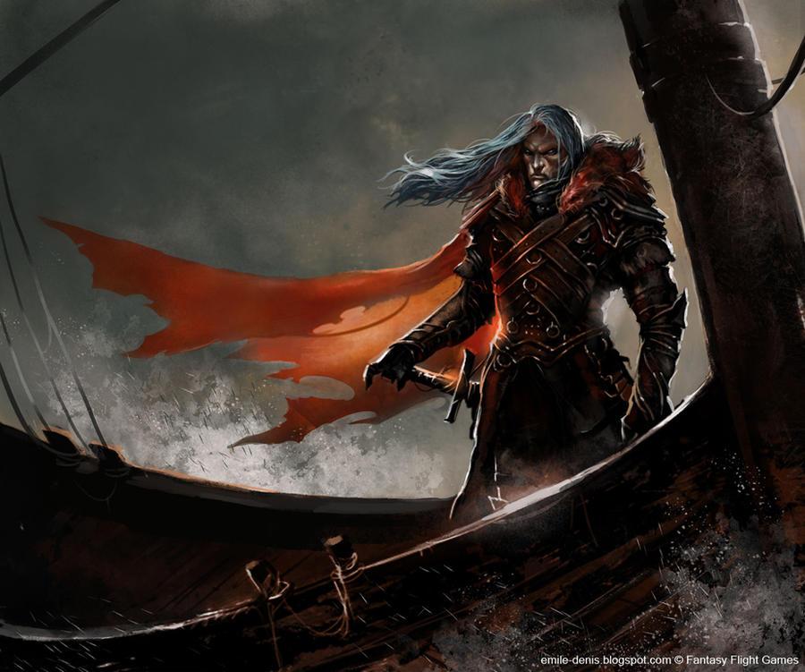 Griff Targaryen by ~Trishkell
