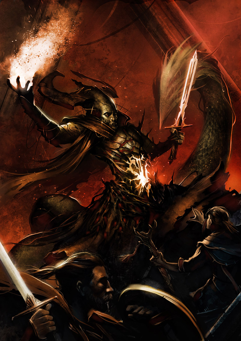 Midgard Master of Demon Mountain by Trishkell