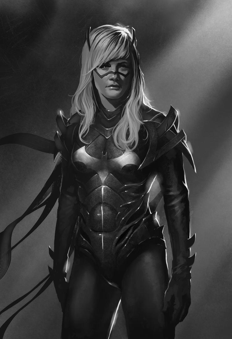 Batgirl by Trishkell