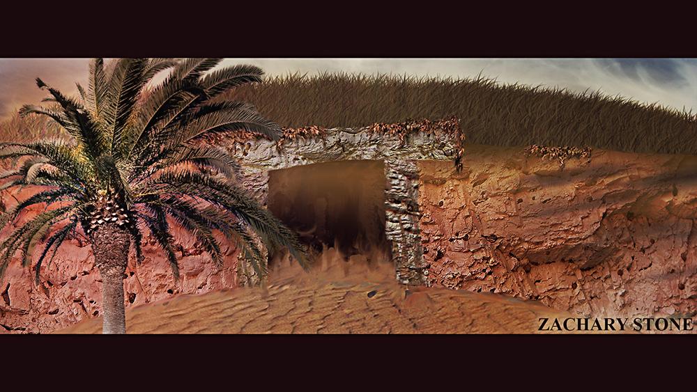 Desert Dungeon (Zachary Stone) by Biggaplaya
