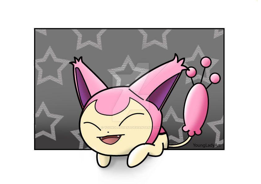 Pokemon Skitty by YoungLadyArt