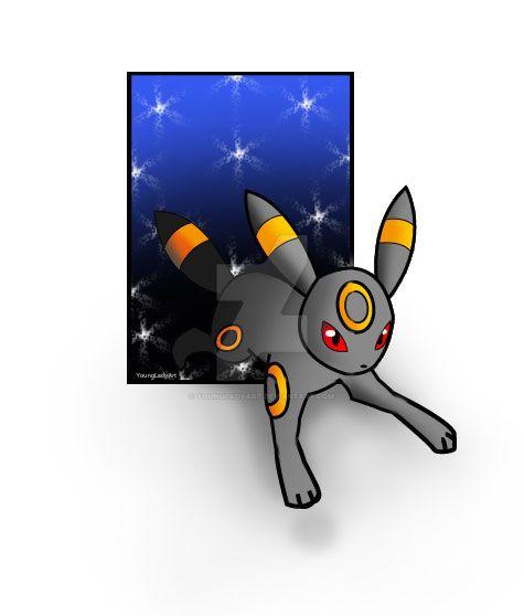 Pokemon Umpreon by YoungLadyArt