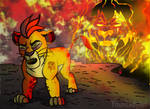 Kion-We are not the same!!!!!! by YoungLadyArt