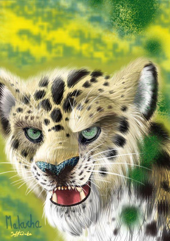 Makucha- (fur version)Lion Guard by YoungLadyArt
