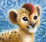 Baby Kion - Lion Guard ( Fur version ) by YoungLadyArt