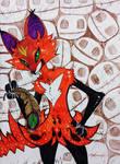 Fox 4 by YoungLadyArt