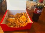 My Friday night KFC dinner.