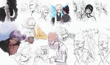 Bleach OC doodles