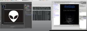 Linux Mint 13 Xfce running PhotoShop CS6