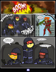 BombSquad Episode 1: Money In The Bank Pg 8.