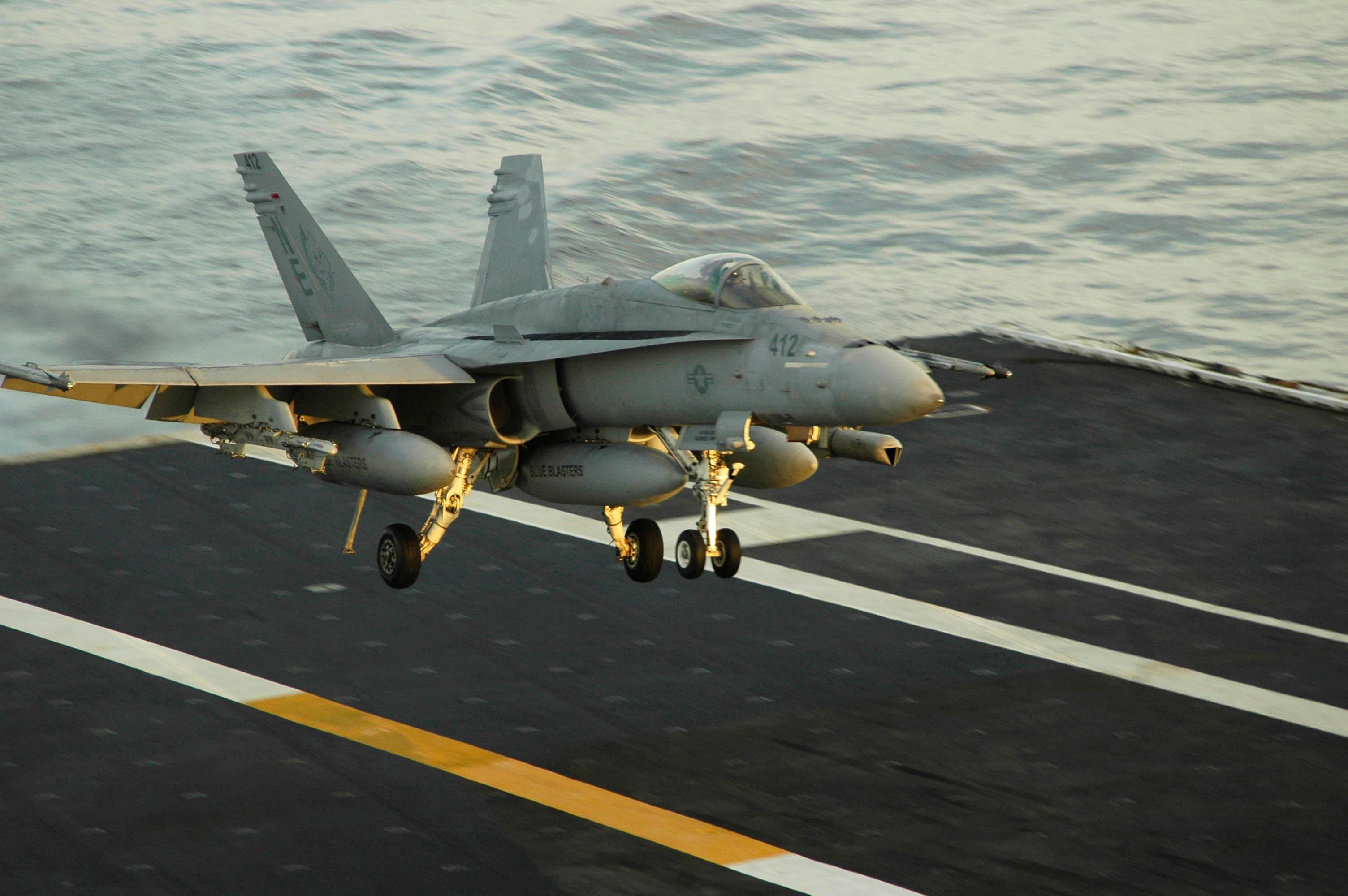 Carrier Landing by jamezevanz