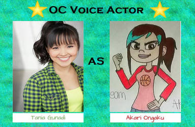 ST Voice Cast - Tania Gunadi as Akari Ongaku