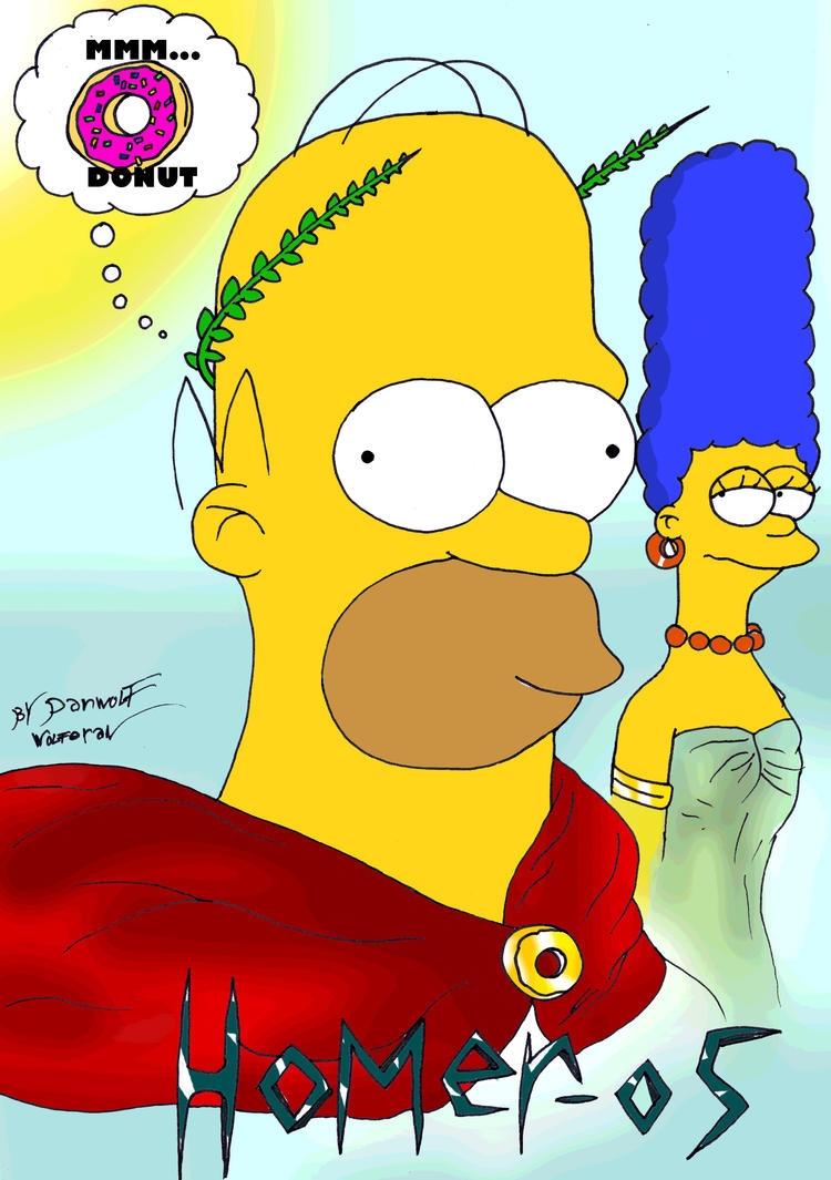 Homer-os by danwolf15