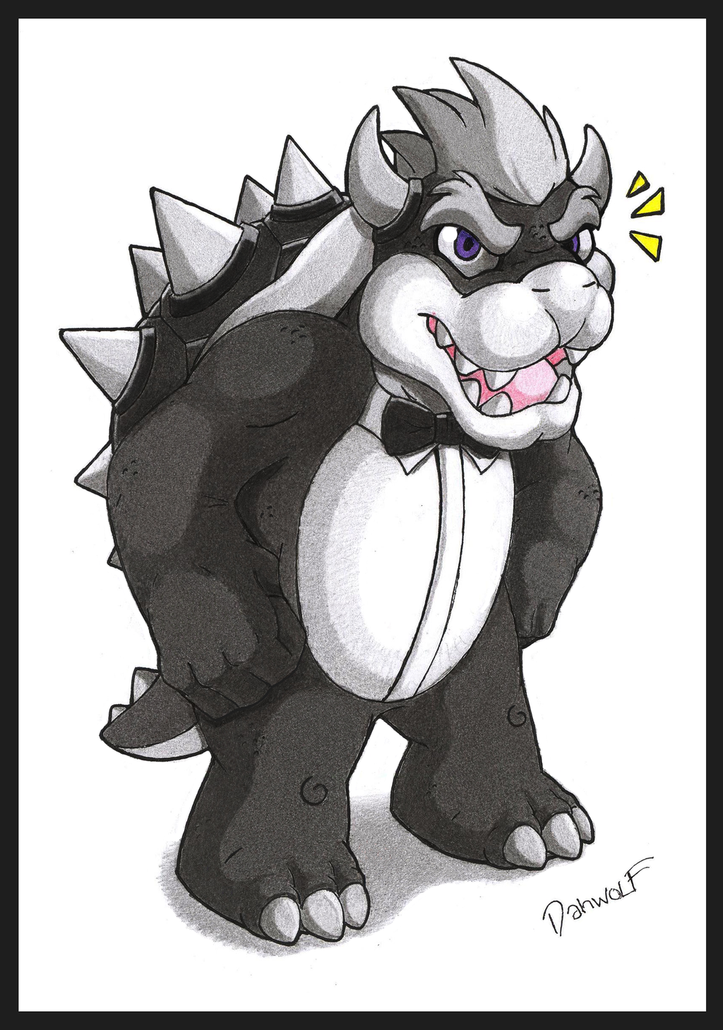 Elegant Koopa King by danwolf15