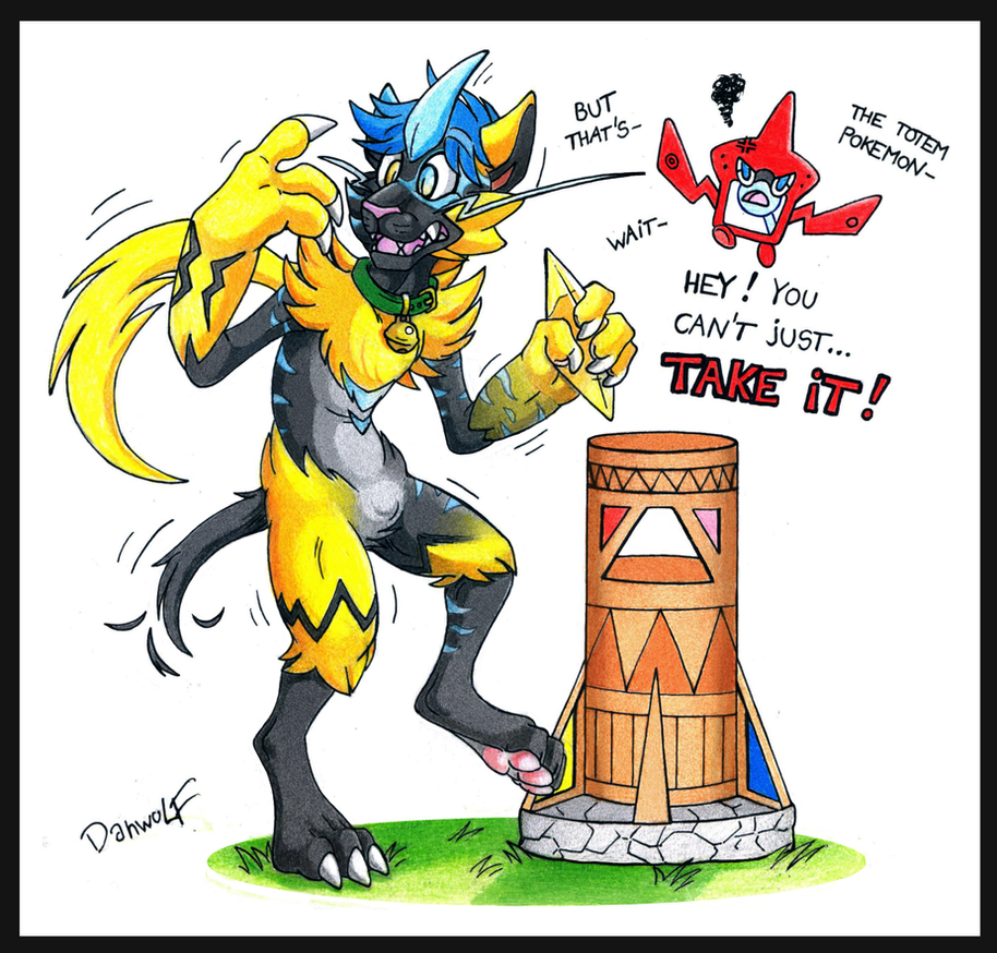 Curse of the Totem pokemon by danwolf15